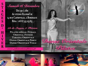 Stage danse orientale kizomba taraxxa pilates fitness décembre 2017 à Bordeaux